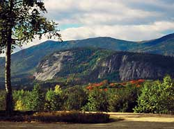 the ledges of North Conway, New Hampshire